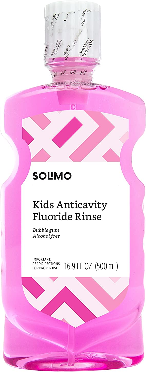 Amazon Brand - Solimo Kids Anticavity Fluoride Rinse