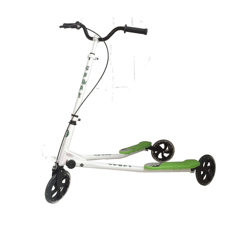 Kidzmotion shway 3 ruedas scooter de oscilación del reductor ...