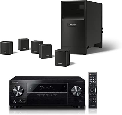 Bose Acoustimass 9 Series V Home Theater Speaker System, Black