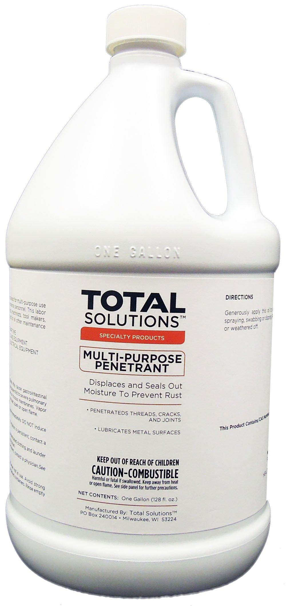 Multi- Purpose Penetrant- Lubricant and Demoisturant, 4 Gallons
