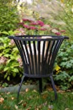 KUHEIGA Feuerkorb Sehr stabil, Schwere Ausführung, Feuerschale, Tulip klein