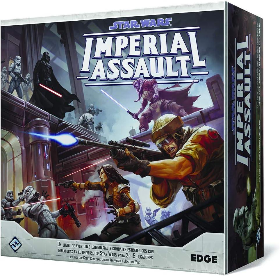 Fantasy Flight Games- Star Wars Imperial Assault (Edge Entertainment EDGSWI01): Amazon.es: Juguetes y juegos
