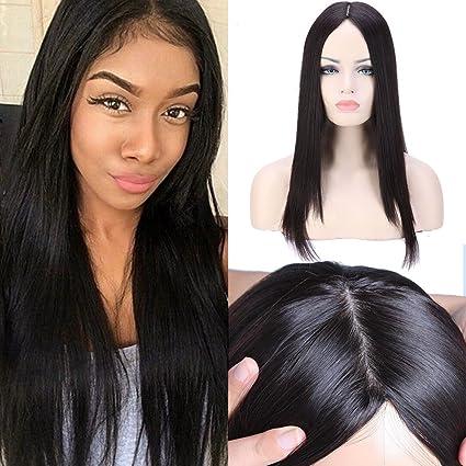 S-noilite 10 a grado Kosher Pelucas 100% Virgin brasileño pelo humano real Lace