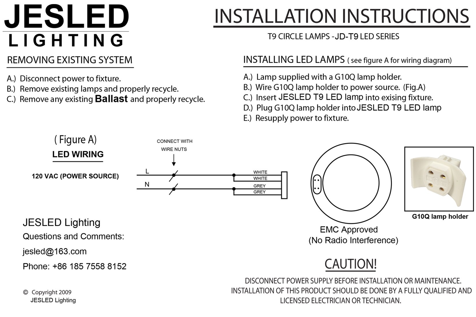 Jesled Upgrade Led Bulb Lamp Holder Wiring Diagram