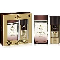 Yardley Original Perfumed Gift Set, Fresh Fragrance for Masculine Elegance, Eau De Toilette, 100ml + Body Spray 150 ml