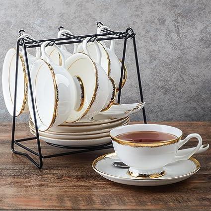 LY-coffee cup Juego de Taza de café de Cerámica Europeo Juego de Taza de