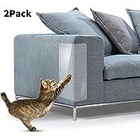 2Pcs Pet Cat Scratch Guard Mat Cat Scratching Post Furniture Sofa Protector