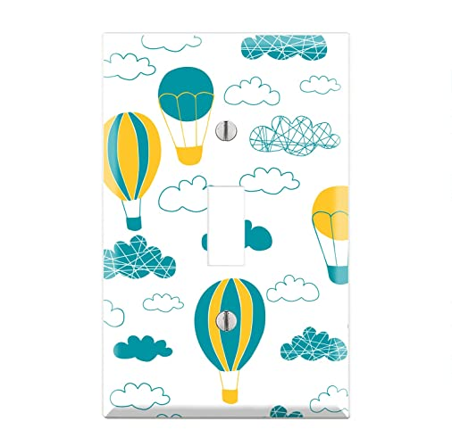 Amazon com: Hot Air Balloon Light Switch Cover, Hot Air