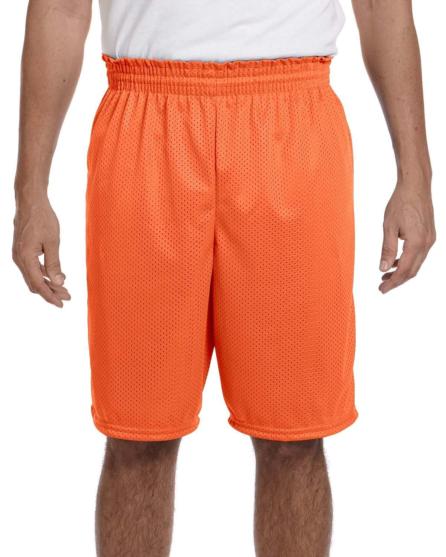 Augusta Sportswear 100% Polyester Tricot Mesh Short, 4XL, ORANGE