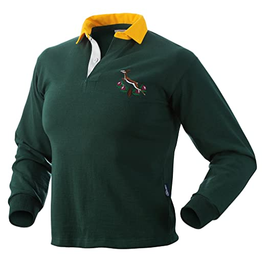 2b2def8f3f4 Amazon.com: Halbro South Africa Old Style Rugby Jersey: Clothing