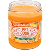 Pet Odor Exterminator Candle, Orange Lemon Splash,13 oz