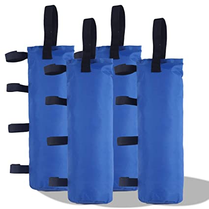8b988aecf69e ABCCANOPY Outdoor Pop Up Canopy Tent Gazebo Weight Sand Bag Anchor Kit-4  Pack (Blue-Single)