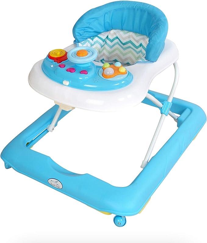 Andador de actividades o tacat/á Andador para beb/é modelo volante celeste
