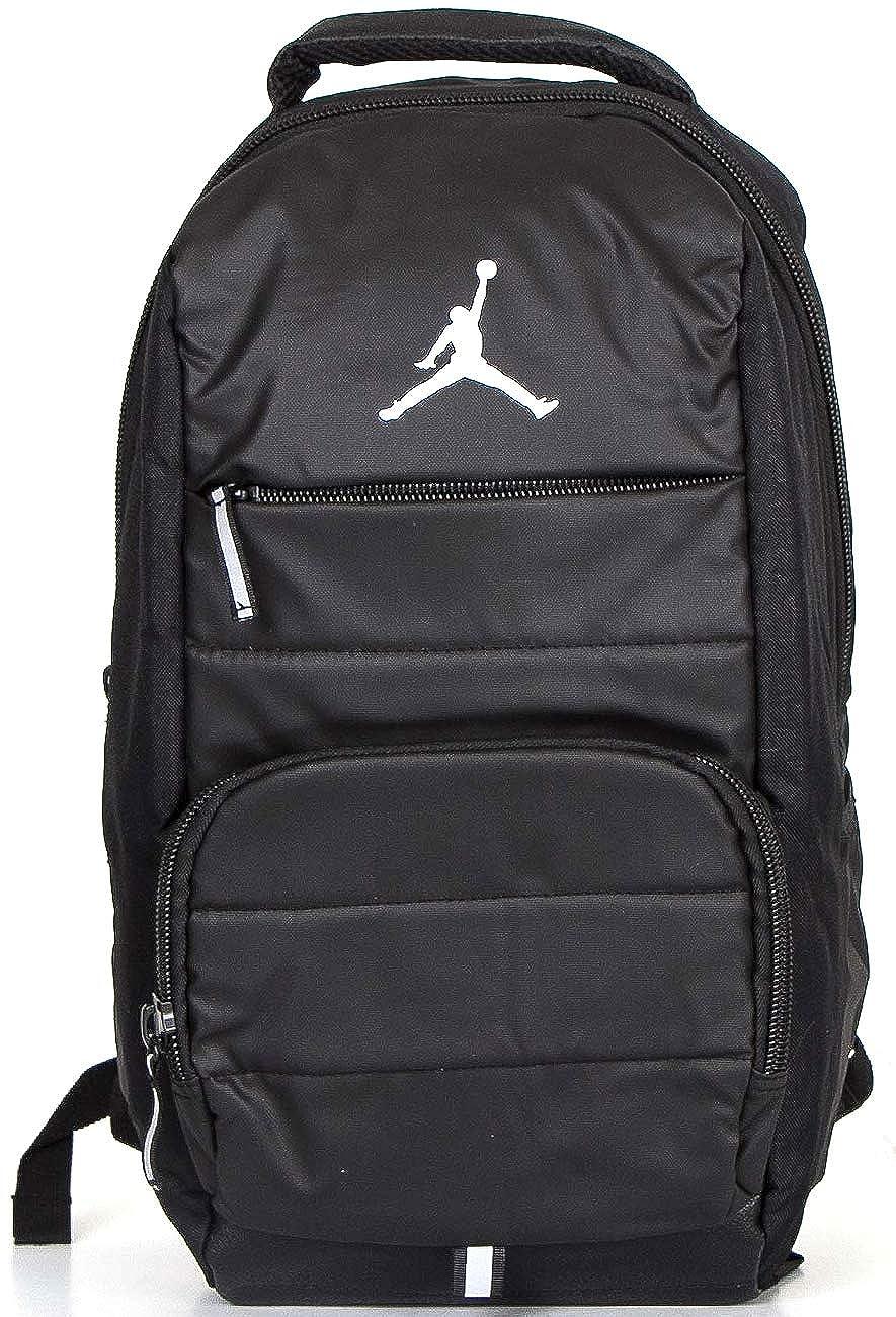 ナイキ Nike Jordan All World ジョーダン オールワールド メンズ バックパック デイパック リュック PC収 ワンサイズ ブラック B07MR24CRS