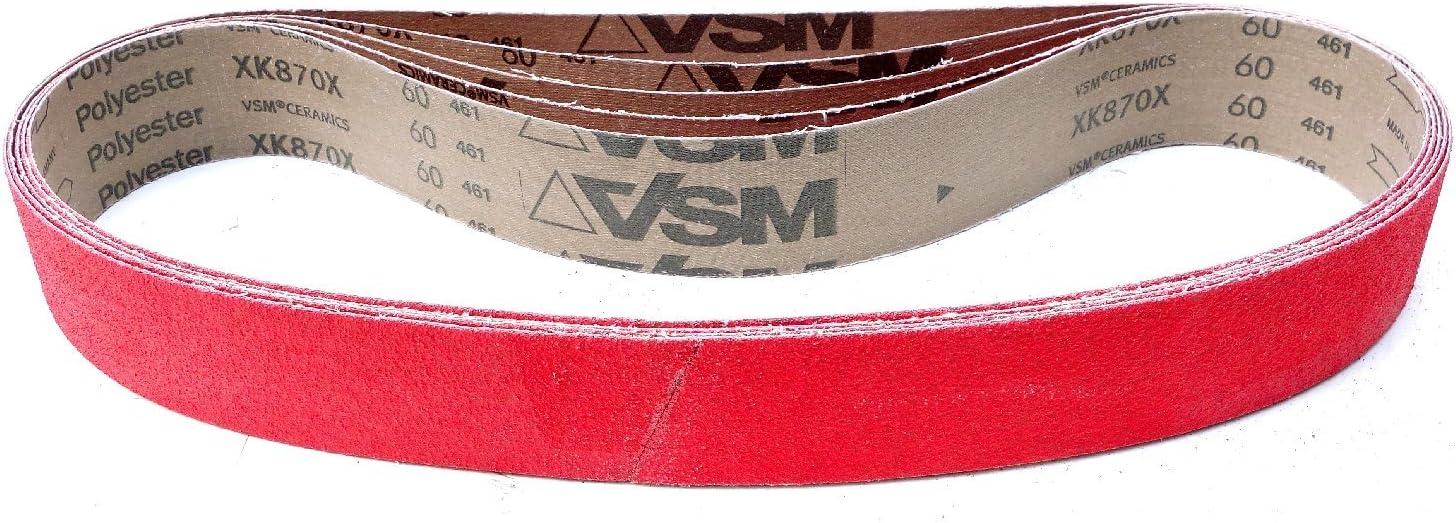 XK870X 50/x 1020/mm VSM xk870/X schleifband 5/unidades grano: A Elegir