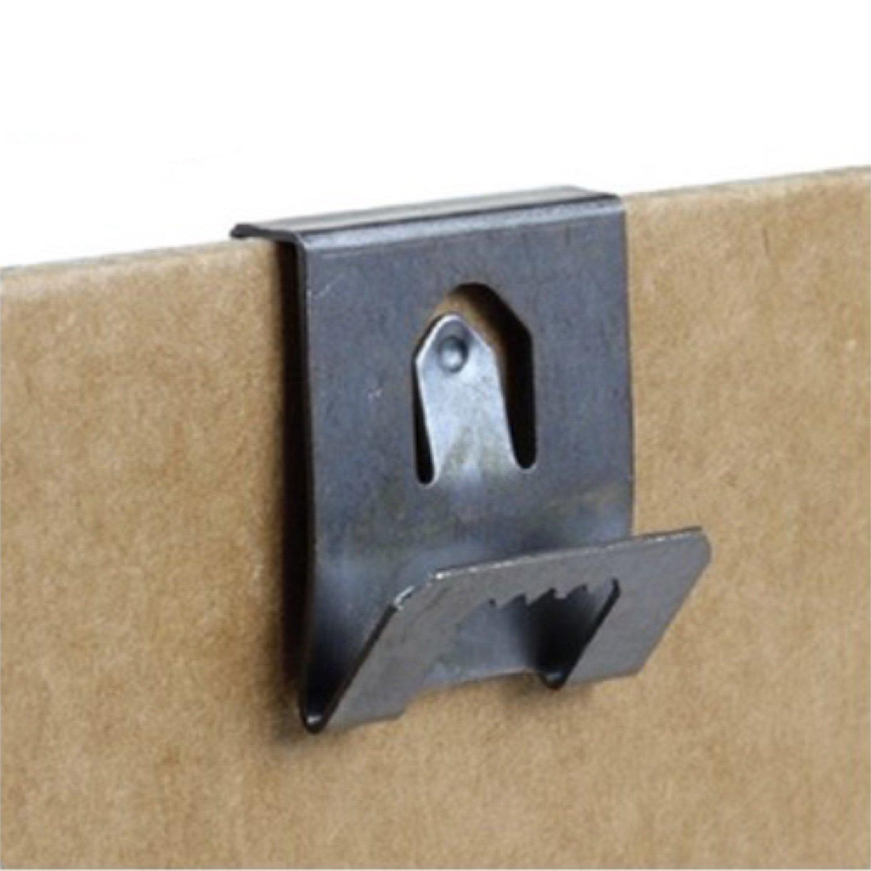 Colgador con dientes de sierra para tableros, de 2-3 mm, 20 unidades: Amazon.es: Bricolaje y herramientas