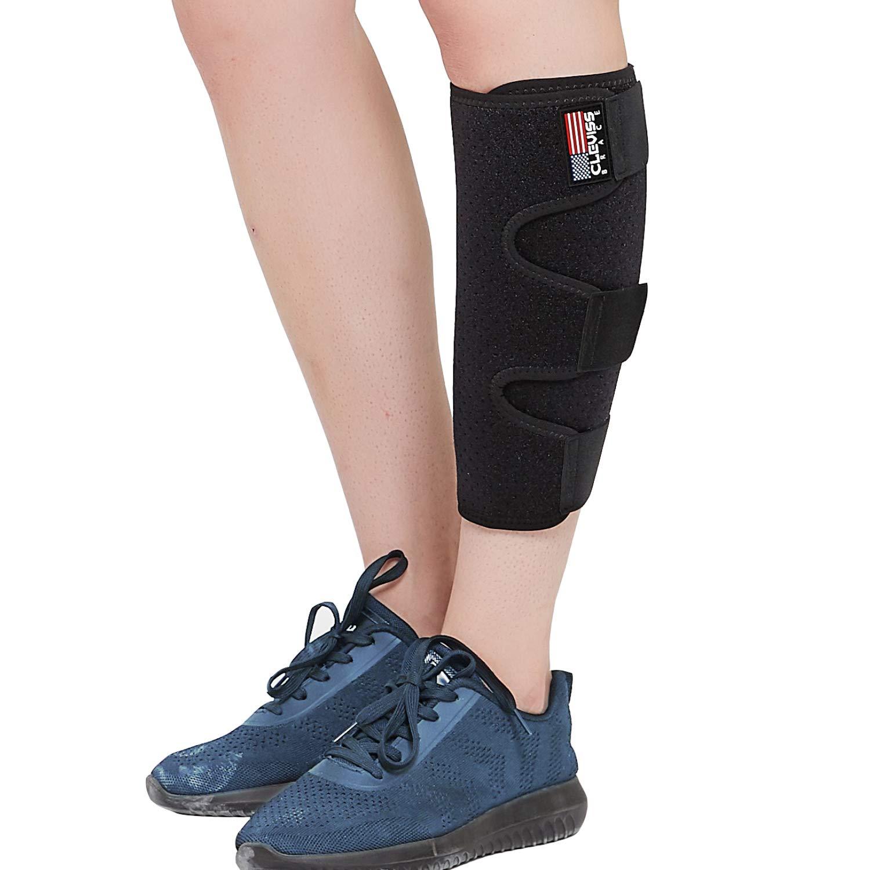 ClevissBrace Calf Support Bracefor Torn Calf Muscle, Adjustable Shin Splint for Strain, Sprain, Pain Relief, Tennis Leg,InjuryNeoprene Lower Leg Calf CompressionWrap, Calf Sleeve for Men and Women: Industrial & Scientific