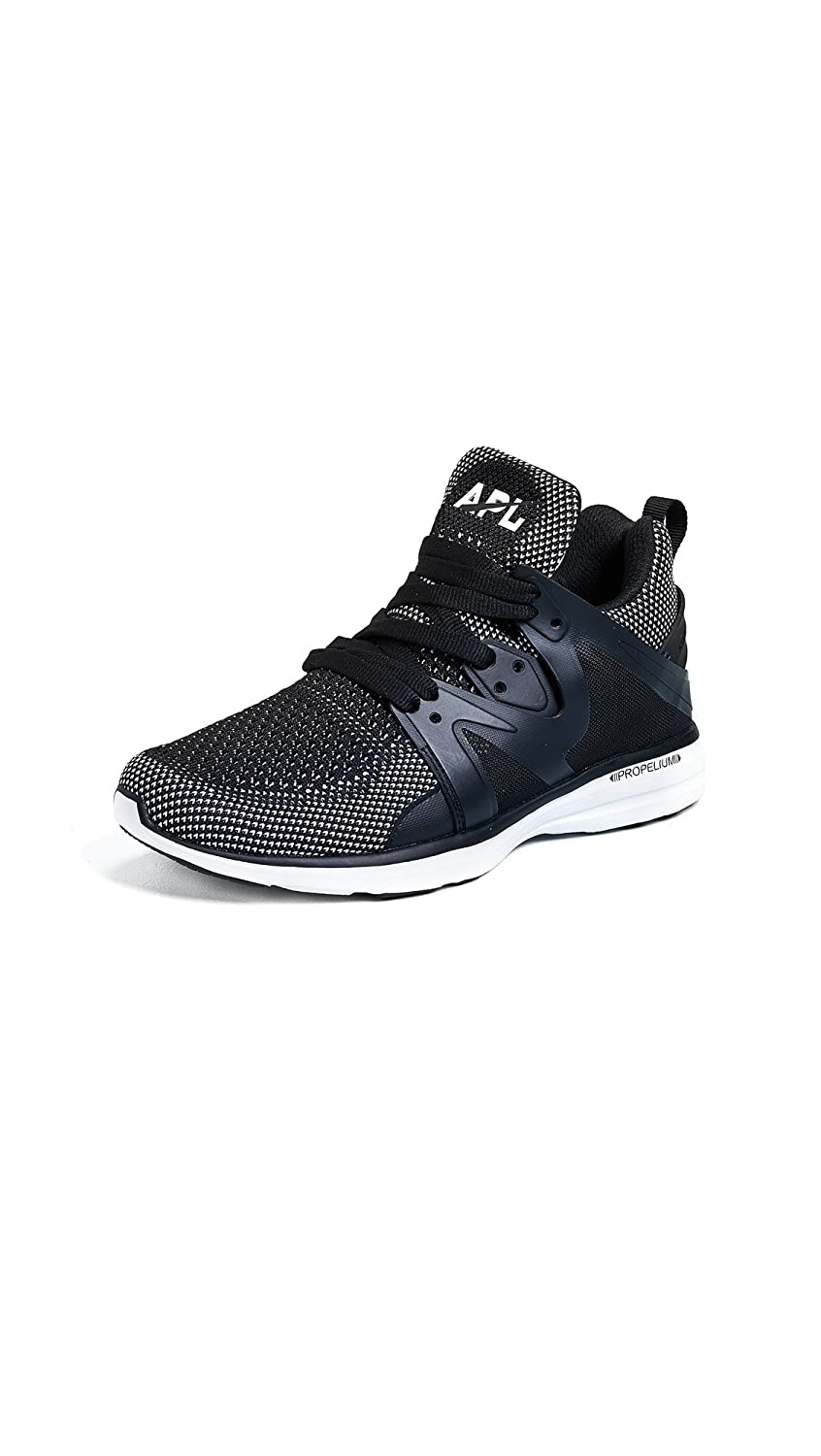 APL: Athletic Propulsion Labs Women's Ascend Sneakers B07FJZPRYM 5 B(M) US|Black/White