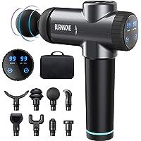 Massage Gun, Muscle Massager, Electric Handheld Massager for Neck Shoulder 99 Speeds 2800 mAh LED Touch Display 8…