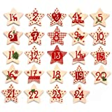 Advent Calendar Numbers Cream/Red