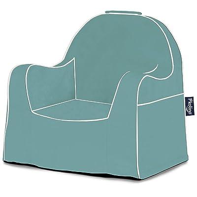 P'Kolino Little Reader Toddler Waterfall Blue Children's Chair One Size: Kitchen & Dining