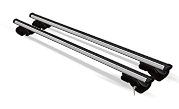 DOZER XL 135cm x 5cm roof bars for vehicles with open roof
