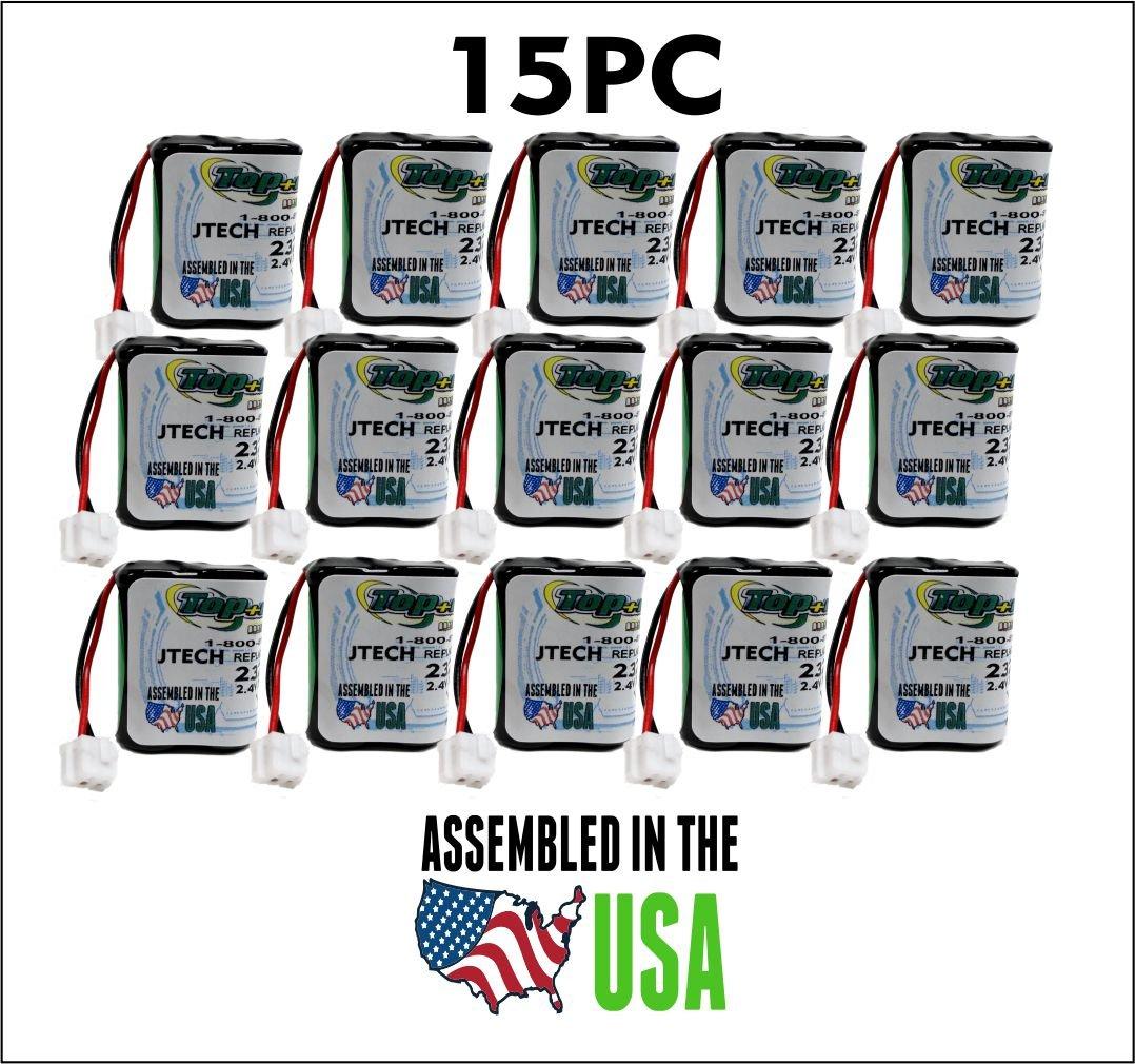 15PC 232020 JTech Battery, Restaurant Pager 2.4 v