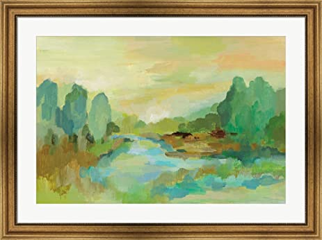 Amazon.com: Jade Forest by Silvia Vassileva Framed Art Print Wall ...