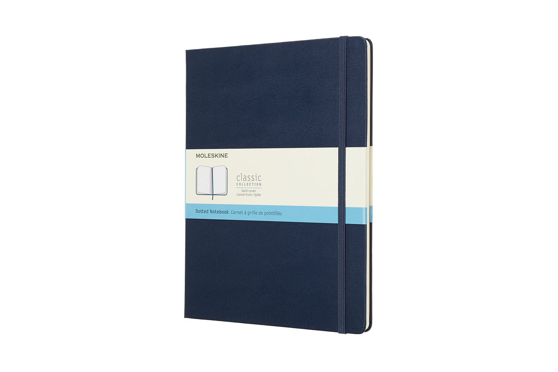 Moleskine Classic Hard Cover Notebook, Dotted, XL (7. (QMKT)