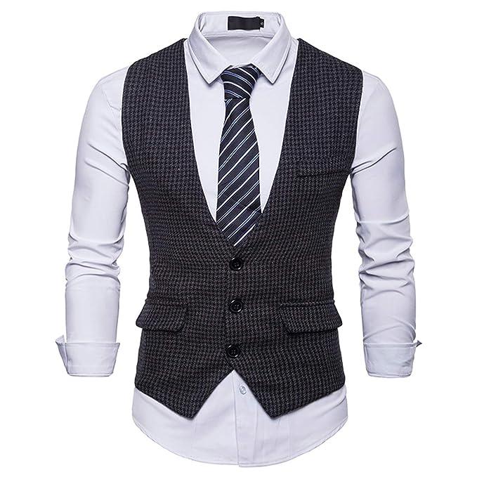 Carolyn Jones Mens Single Breasted Suit Vest Male Formal ...