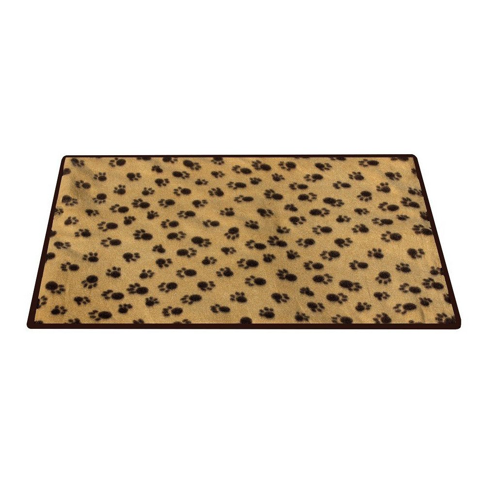 Dog Cat Pet Mattress for Resting Paw Print Comfortable Pet Care