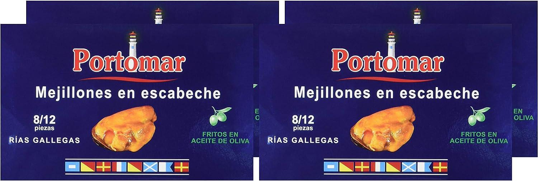 Mejillones de las Rías Gallegas en escabeche-8-12 pzs/lata ...
