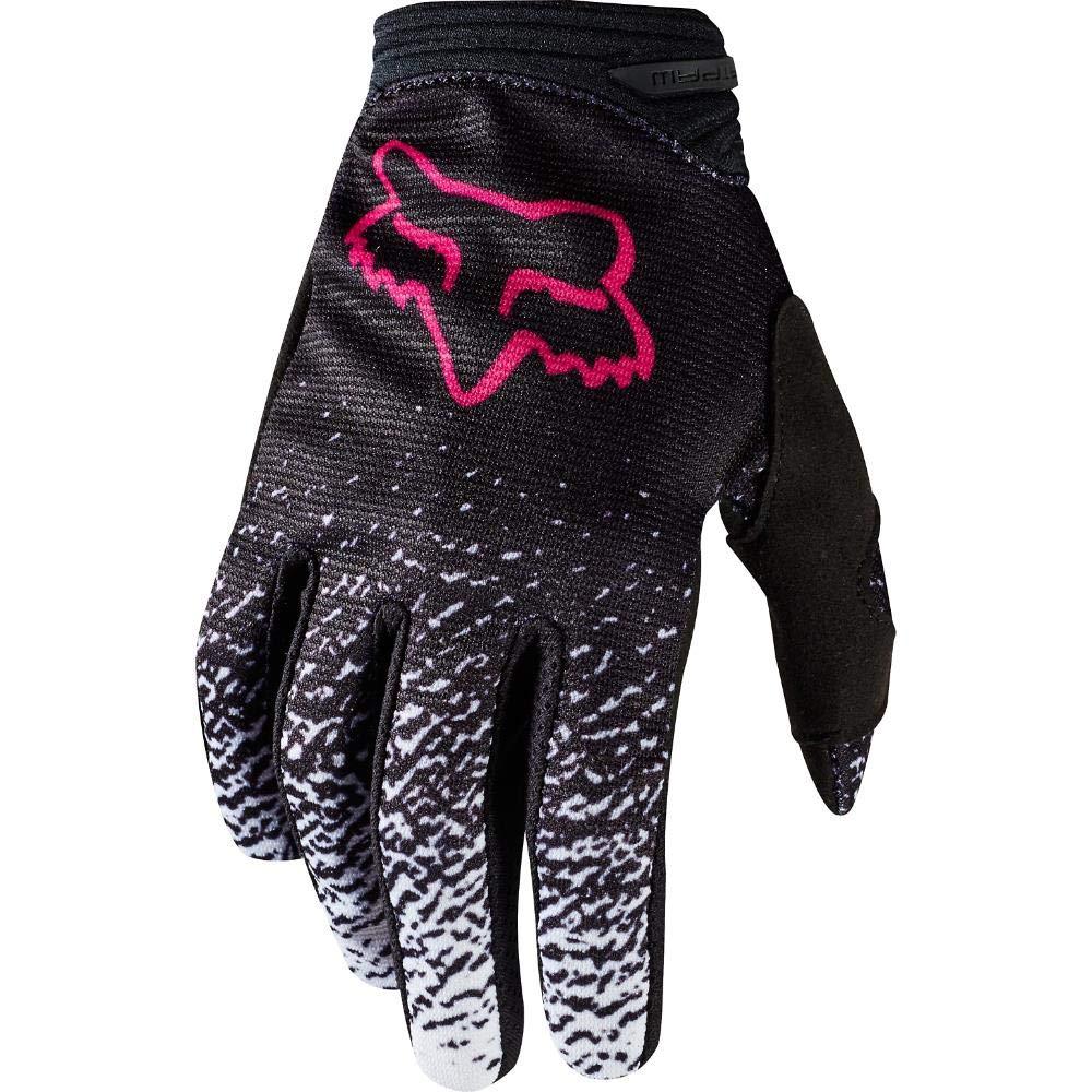 2018 Fox Racing Youth Girls Gloves-Black/Pink-YM 19508-285-YM