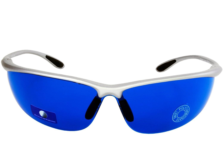 Amazon.com: Lentes de sol azules buscador de pelotas de golf ...