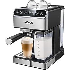 Cafeteras combinadas espresso/goteo