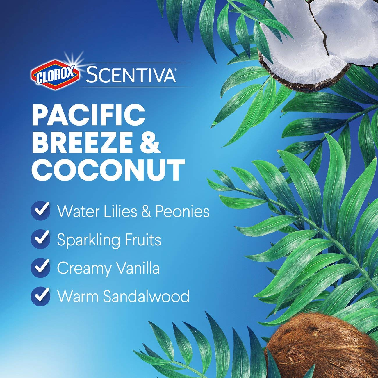 Clorox Scentiva Disinfecting Wet Mopping Pad Refills for Floor Cleaning, Pacific Breeze & Coconut, 48 Count by Clorox (Image #6)