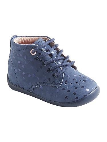 9c9bf03494098 Vertbaudet Bottillons Cuir Fille Premiers Pas  Amazon.fr  Chaussures ...
