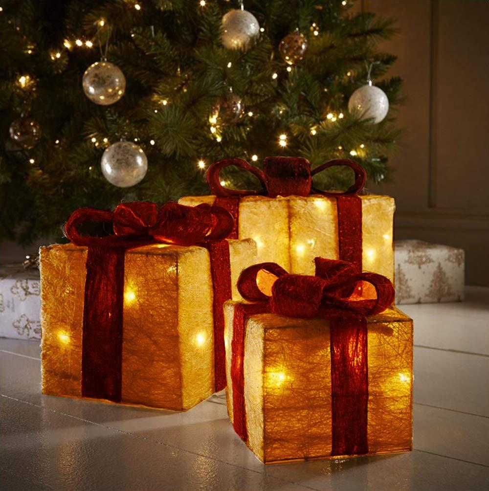 christmas decorations sale light up christmas parcels light up christmas presents christmas ornaments christmas gift set