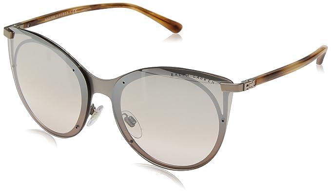 Ralph Lauren 0RL7059, Gafas de Sol para Mujer, Rose Gold, 63
