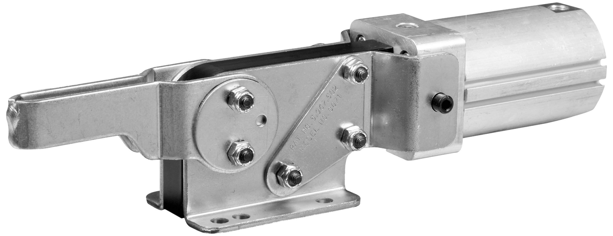 DE-STA-CO 8071 Enclosed Pneumatic Hold Down Action Clamp
