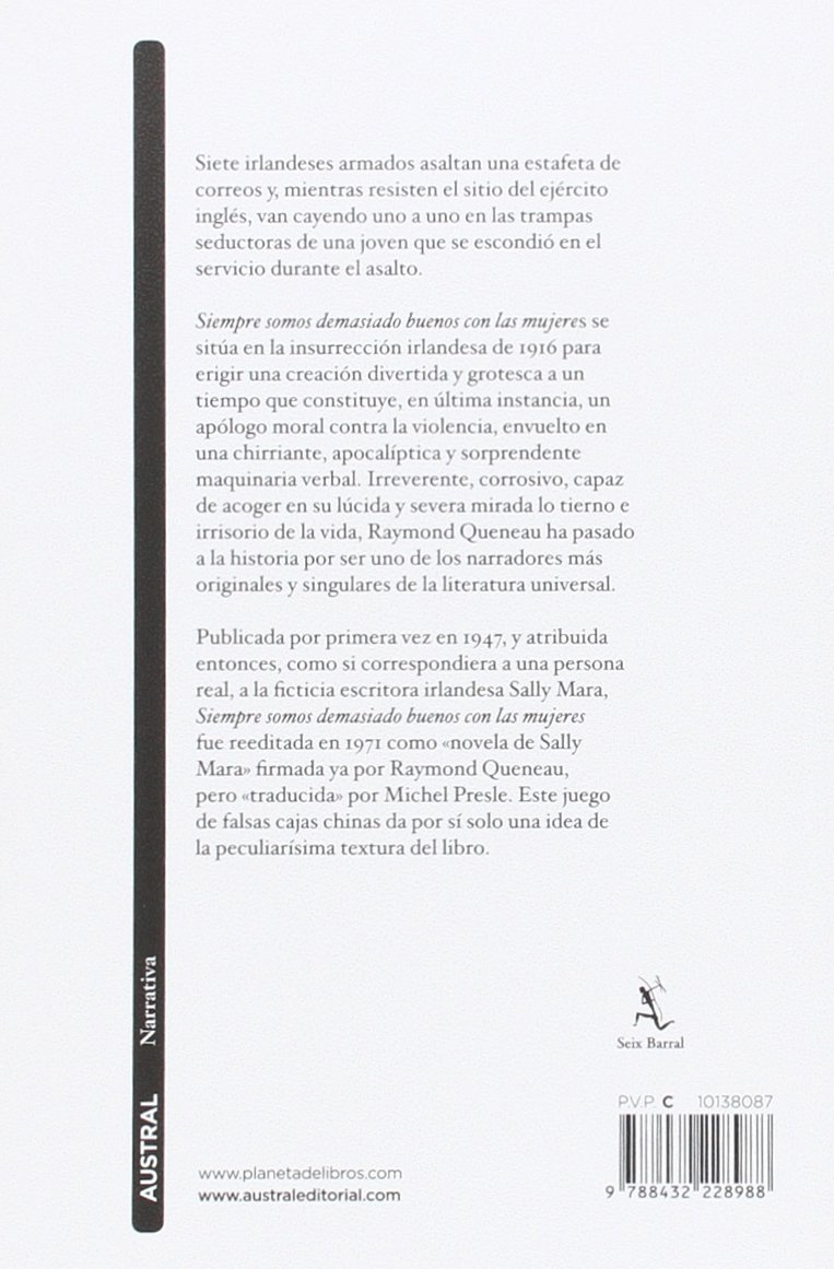 Siempre somos demasiado buenos con las mujeres: Raymond Queneau: 9788432228988: Amazon.com: Books