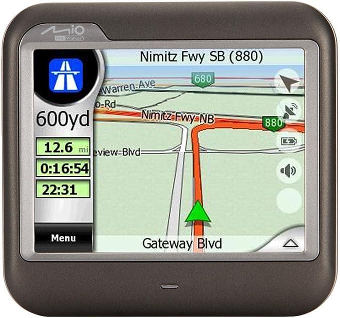 Mio C230 Canada Map Amazon.com: Mio DigiWalker C230 3.5 Inch Portable GPS Navigator