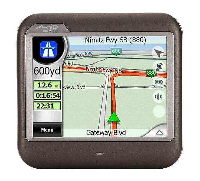 amazon com mio digiwalker c230 3 5 inch portable gps navigator rh amazon com Mio GPS Maps Mio GPS Maps