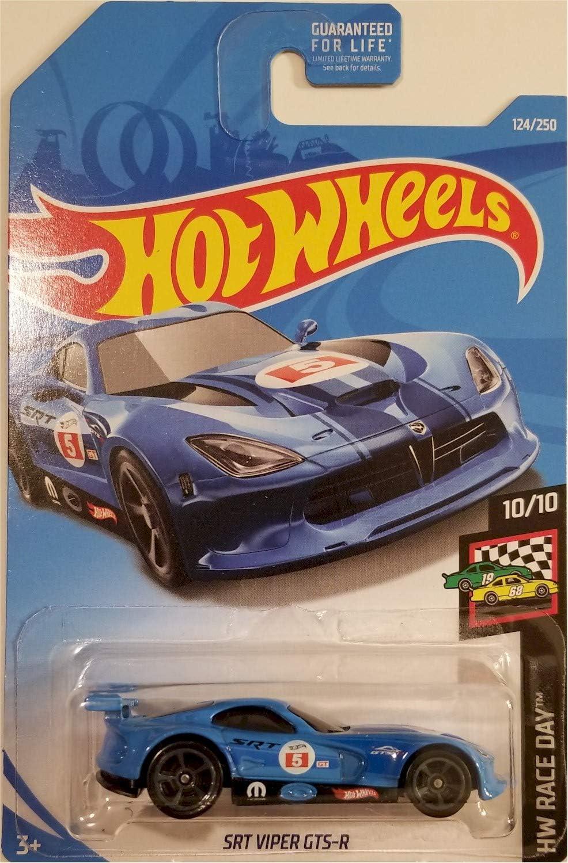 Hot Wheels 2019 # 124//250 dodge SRT Viper Gts-R Bleu @ F