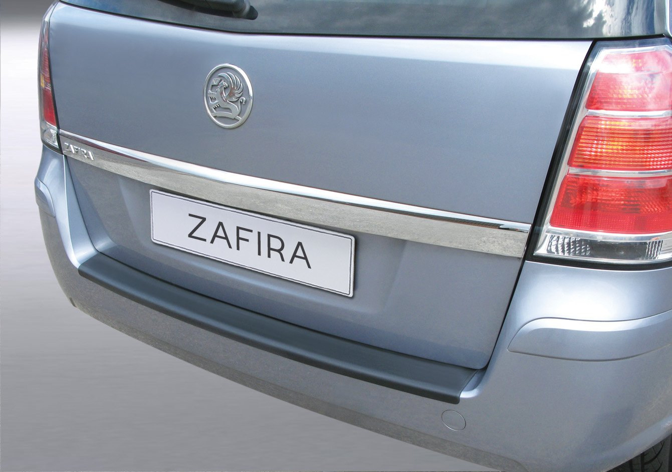 Opel Zafira B 2005 ABS Argent Protection de seuil arri/ère