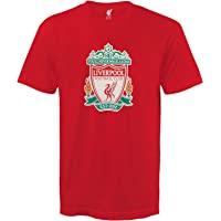 Liverpool FC Official Football Gift Mens Crest T-Shirt