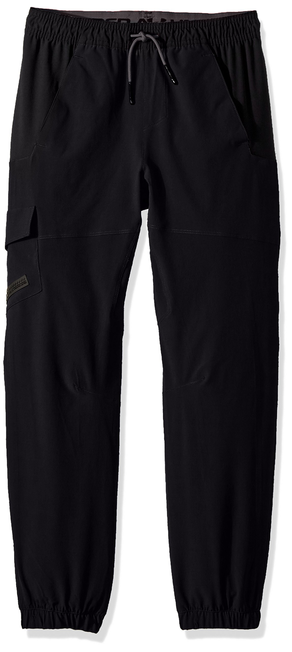 Under Armour Boys' X Level Cargo Pants, Black /Graphite, Youth Small