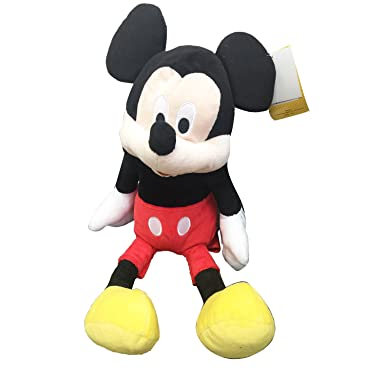 15920a6aab5 Image Unavailable. Image not available for. Color  MICKEY MOUSE PLUSH  BACKPACK! FIGURE STUFFED TOY DISNEY 18 quot  NWT