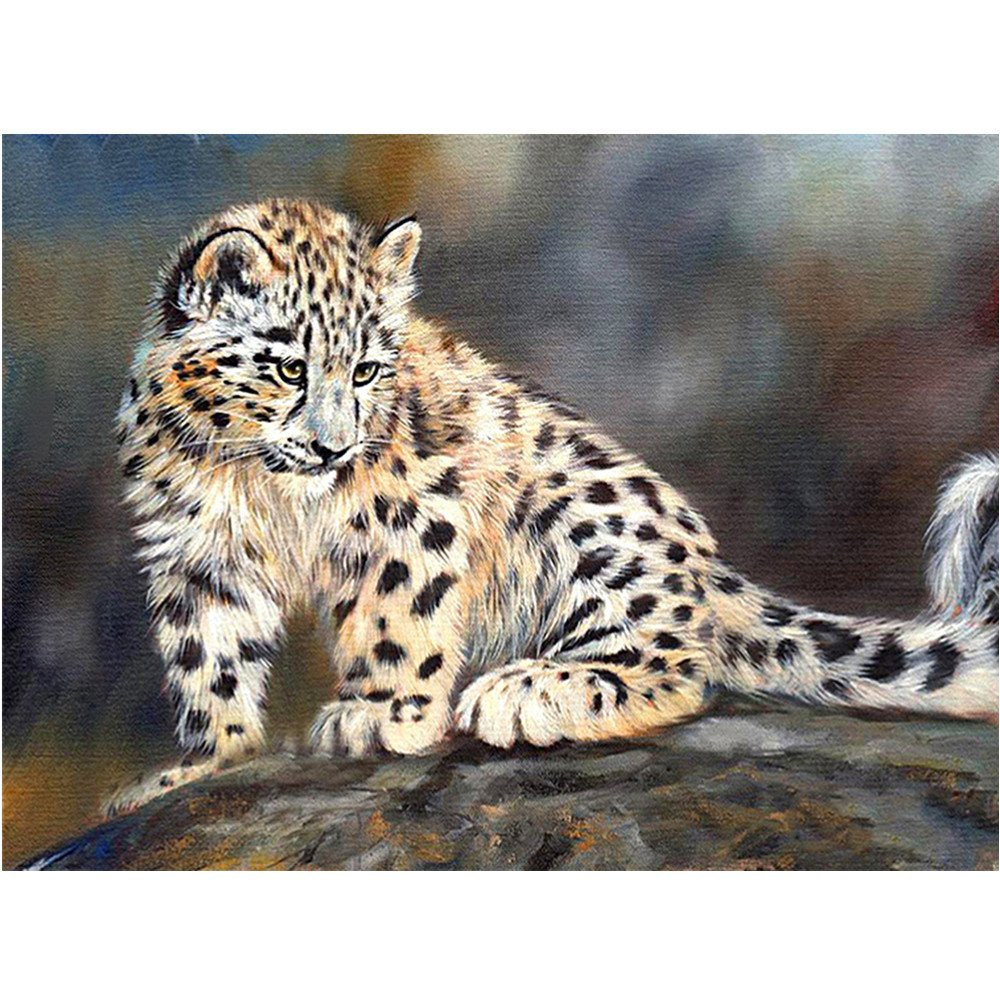 LiPing 11.8x15.7in/30x40cm 5D Realism Lifelike Cross Stitch Kits DIY Diamond Embroidery Painting Rhinestone Pasted/Wall Art Natural Ecologic Canvas Deco Gift (B)