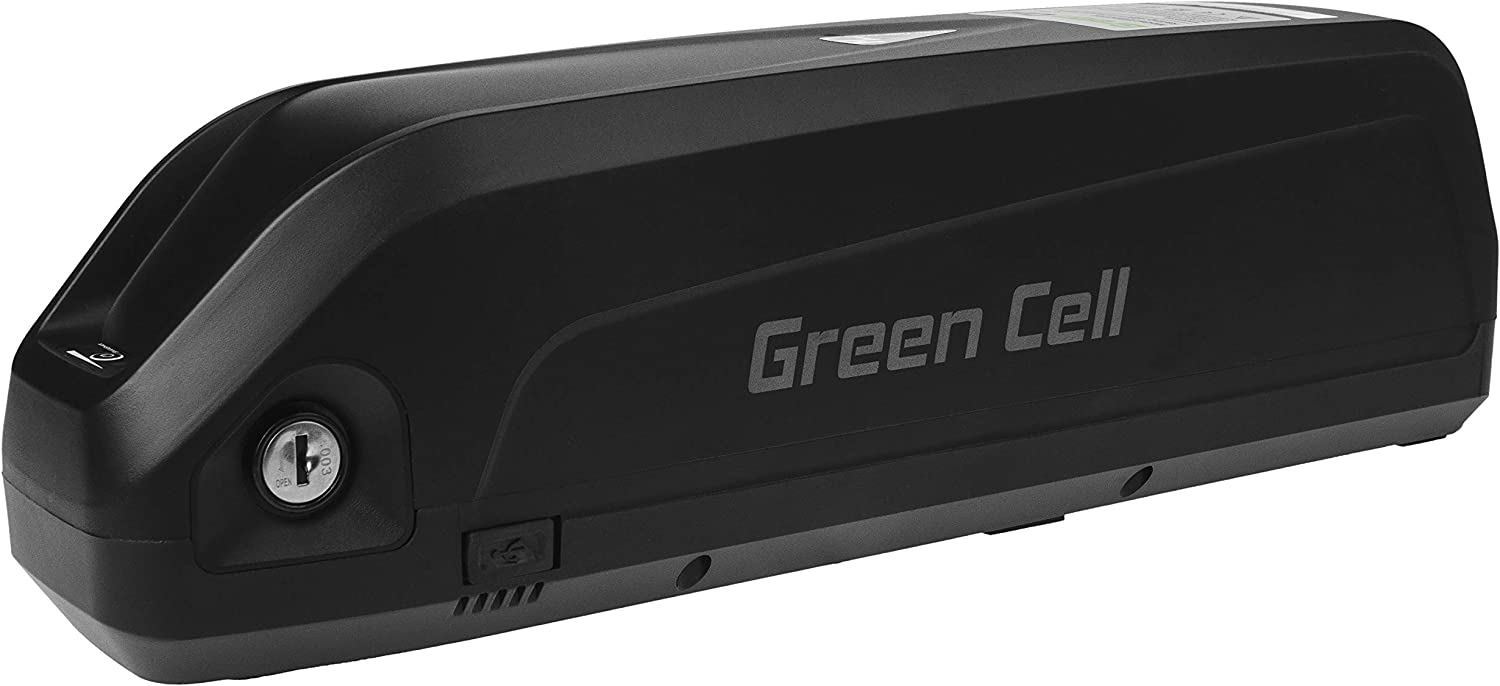 GC/® E-BIKE Battery 48V 17Ah Down Tube with Charger and Li-Ion Original Cells